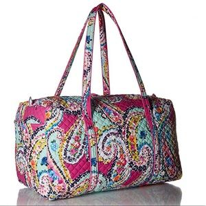Vera Bradely Iconic Large Travel Duffle